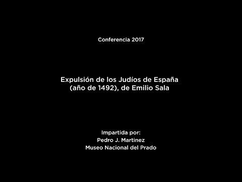 Conferencia: Expulsión de los judíos de España (año de 1492), de Emilio Sala