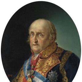El infante Antonio Pascual de Borbón