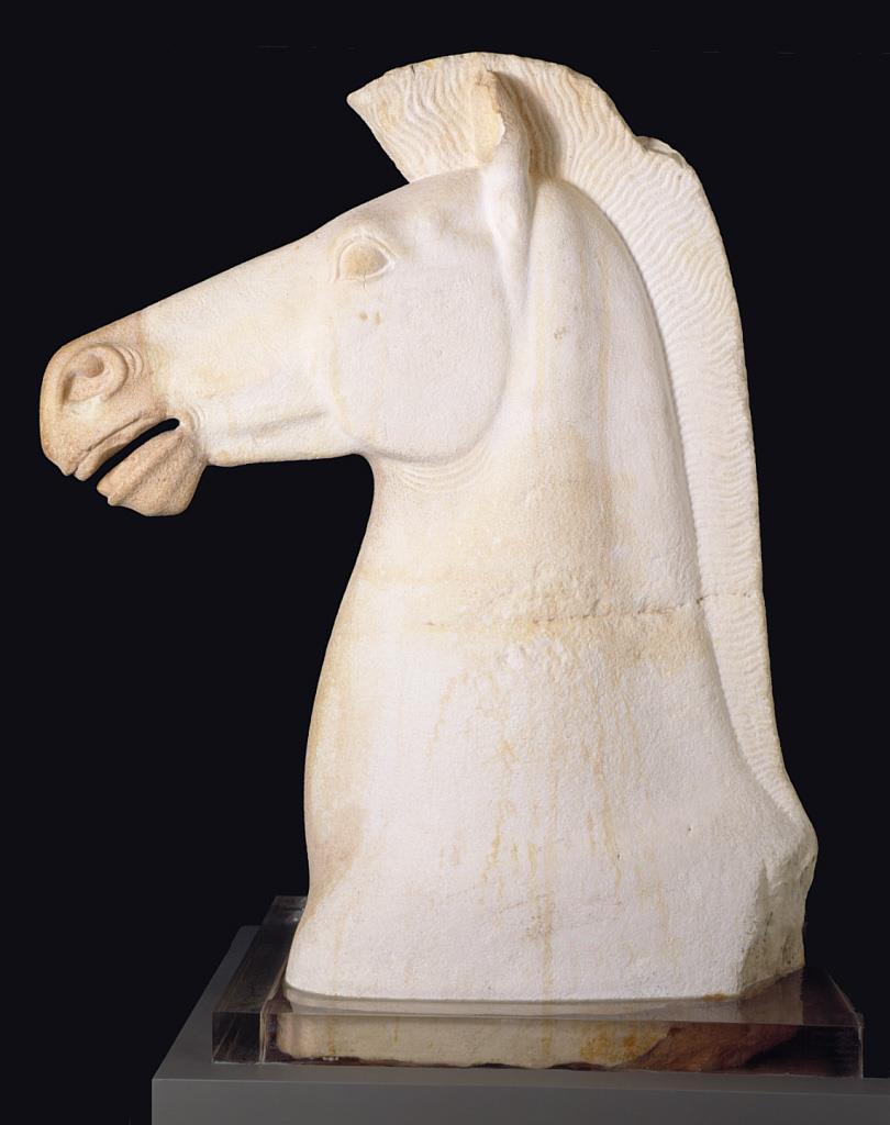 Caballo de época arcaica [taller ático]
