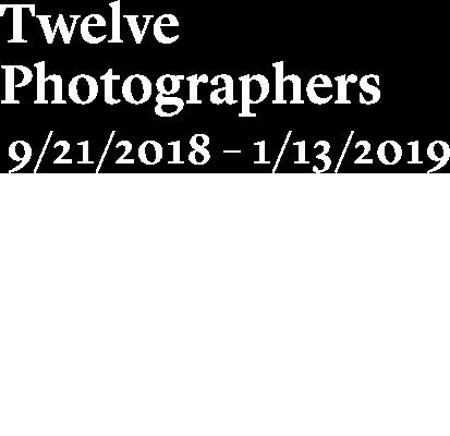 Exposición. Twelve Photographers