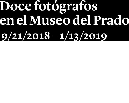 Exposición. Doce fotógrafos en el Museo del Prado