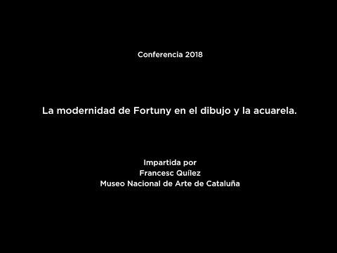 La Modernidad en Fortuny en el Dibujo y la Acuarela