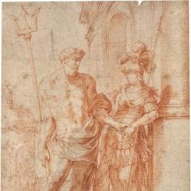 Alegoría de Minerva y Neptuno