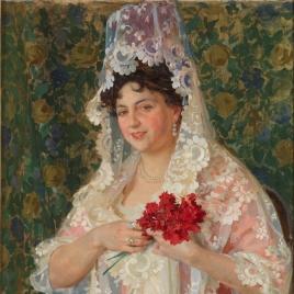 Asunción Castro Crespo, esposa del pintor