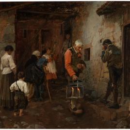 El viático en la aldea (Asturias)