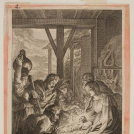 Adoración de los pastores, hoja de un Misal