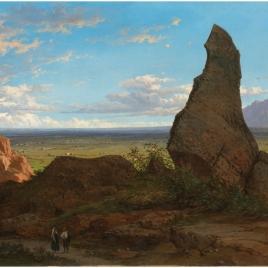 Paisaje de Montserrat desde la Roca Dreta