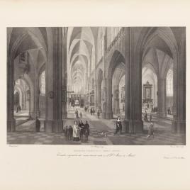 Interior de la Catedral de Amberes