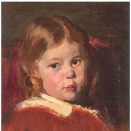 Ana María, hija del pintor
