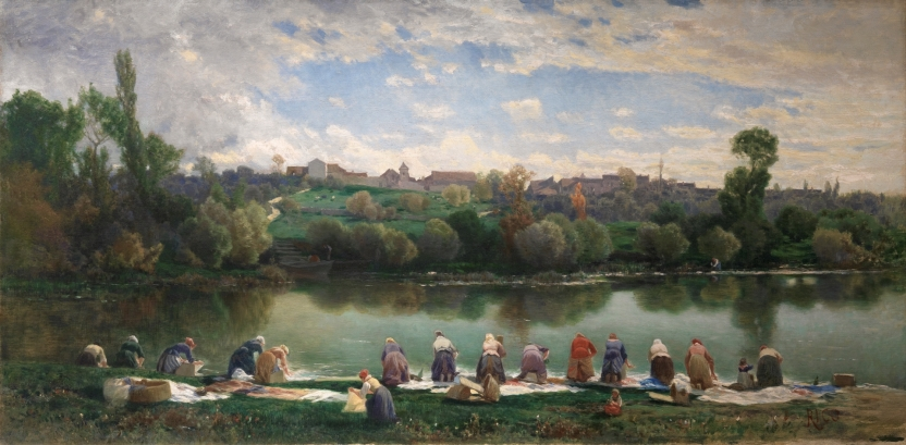 Washerwomen of La Varenne, France