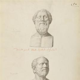 Retrato del llamado Licurgo y retrato de un griego culto