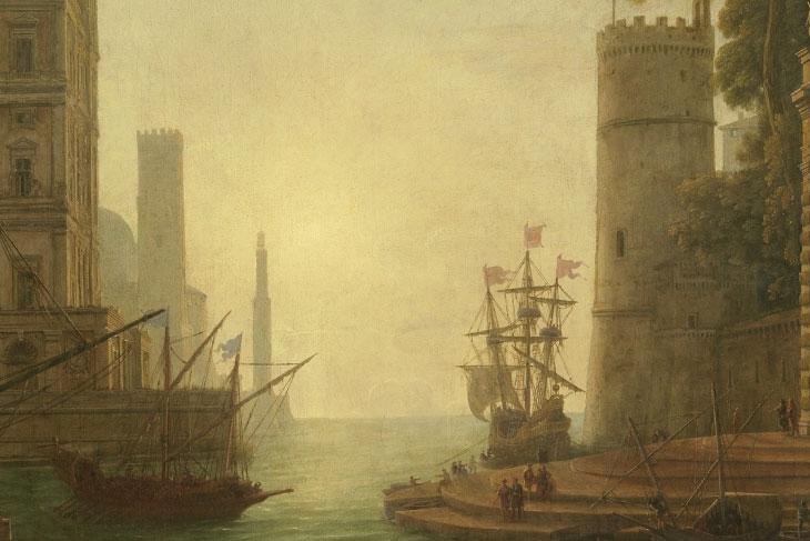 Nicolas Poussin y Claudio de Lorena
