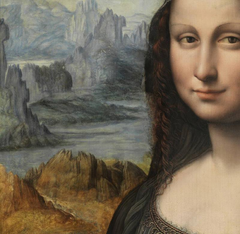 Advance information on the study of the Mona Lisa in the Prado
