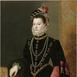 Queen Elisabeth of Valois, third wife of Philip II