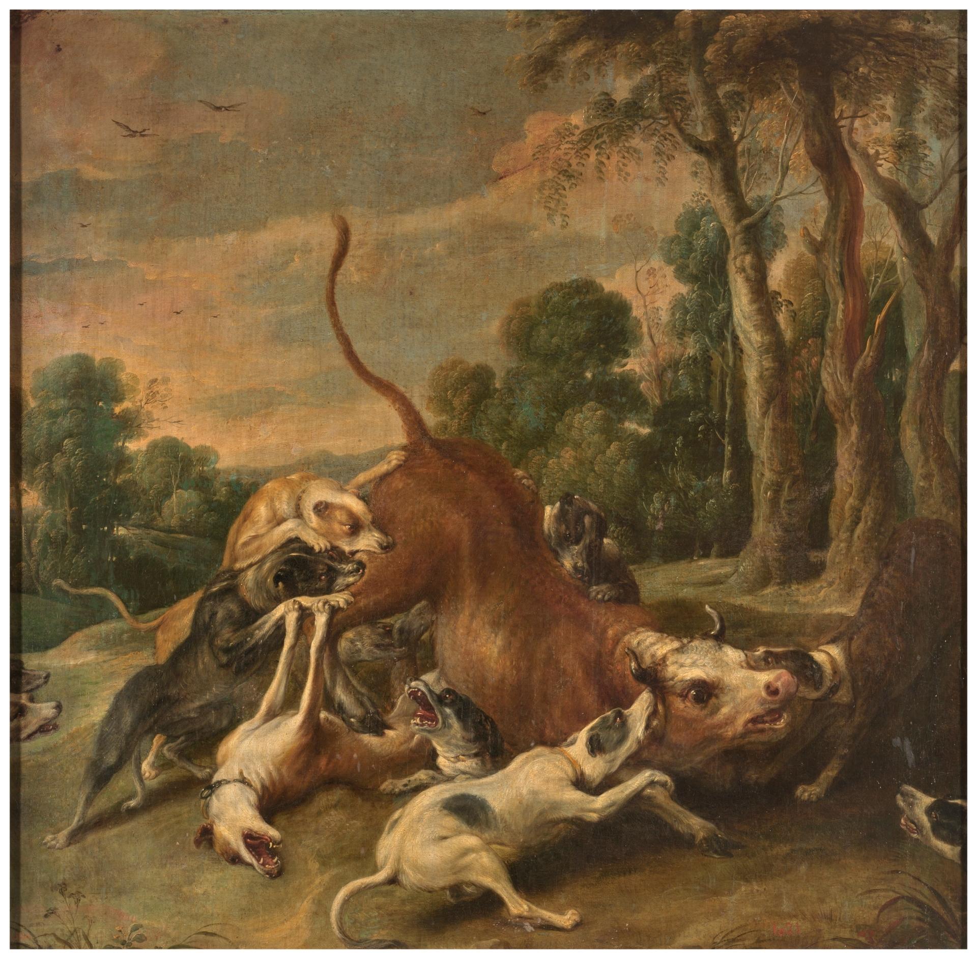 Caza de ciervos - Colección - Museo Nacional del Prado