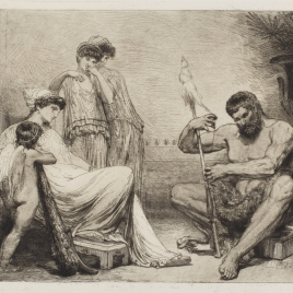 Onphala y Hércules