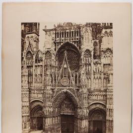Fachada de la Catedral de Notre Dame de Rouen