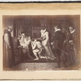 Últimos momentos de Felipe II