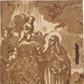 Visión de Santa Teresa / Apuntes