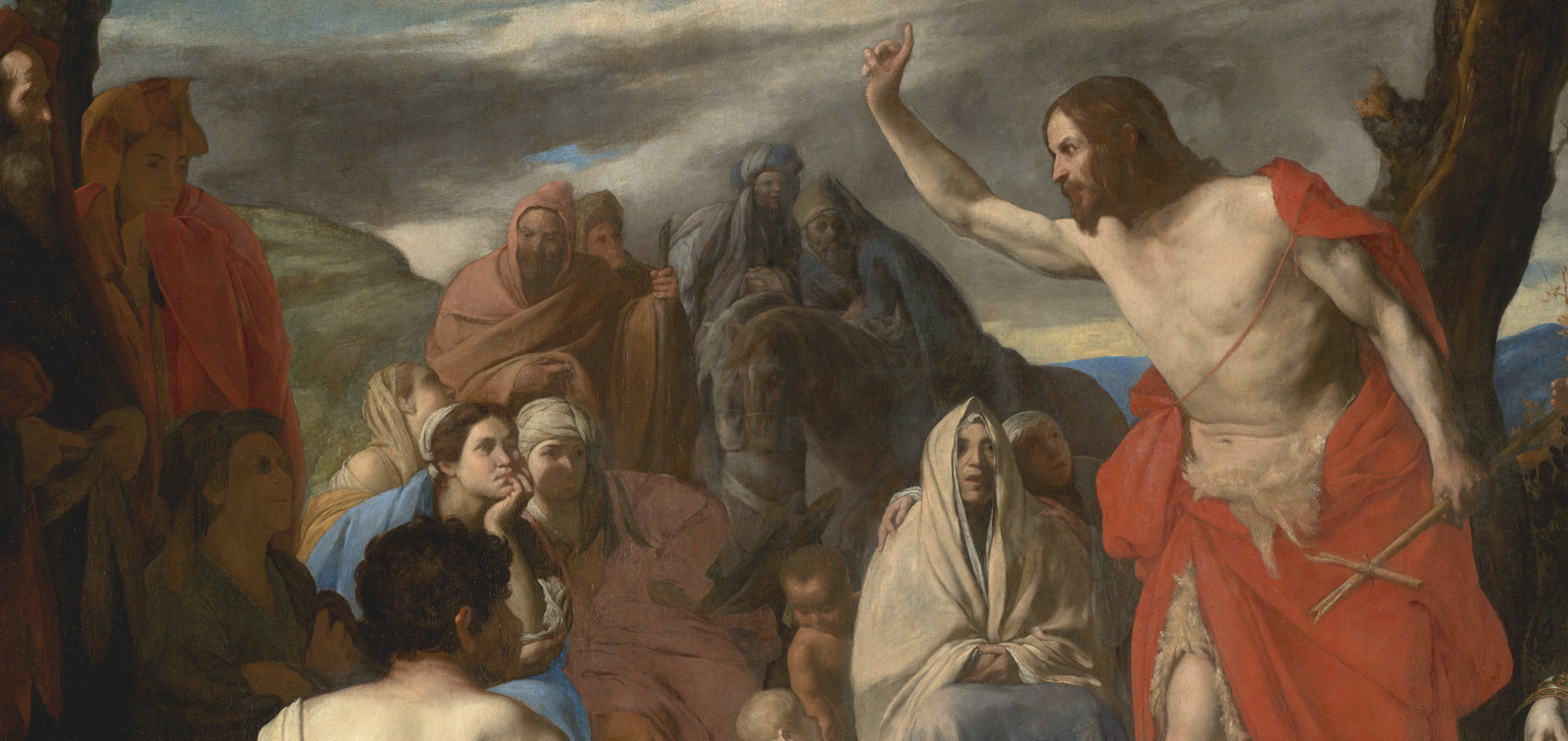 Descubriendo la Colección: <em>Predicación del Bautista en el desierto</em>, de Massimo Stanzione