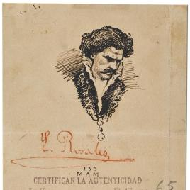 Cabeza de Hamlet (Retrato de Mariano Fortuny)