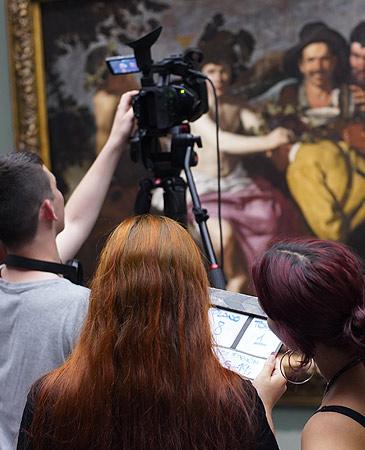 Cine en curso en el Museo del Prado