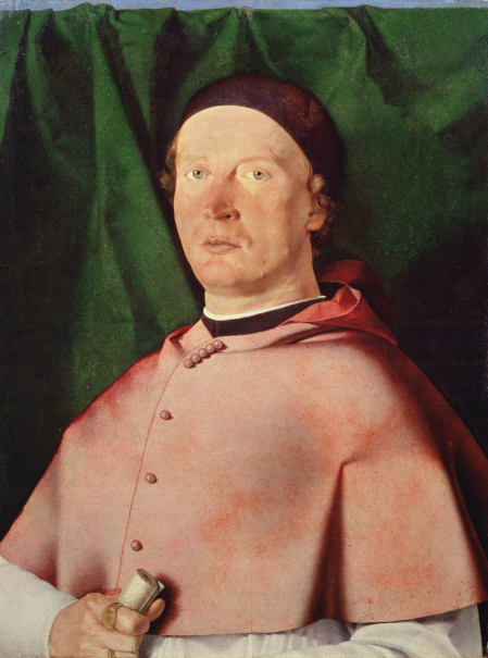 Portrait of Bishop Bernardo de' Rossi