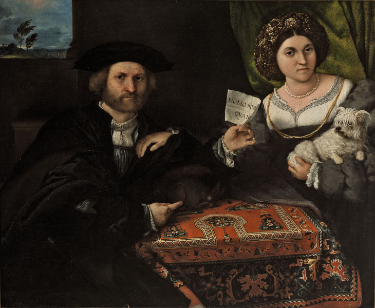 The matrimonial portrait
