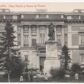 Museo del Prado, vista de la fachada sur o de Murillo
