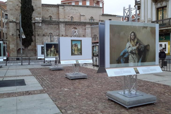 Zamora acoge una muestra al aire libre de reproducciones fotográficas de cincuenta obras de la colección del Museo del Prado
