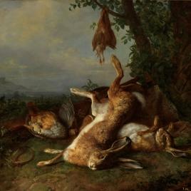Un cuadro de caza muerta