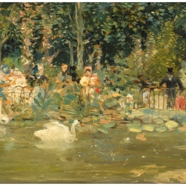 A la orilla del estanque