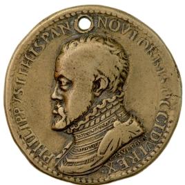 "Felipe II - Hispania (""HISPANIA VTRIVSQ ORBIS REGNATRIX"")"