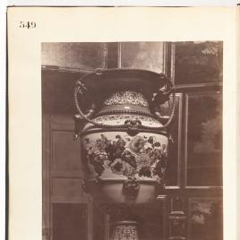 Jarrón de porcelana de Sèvres