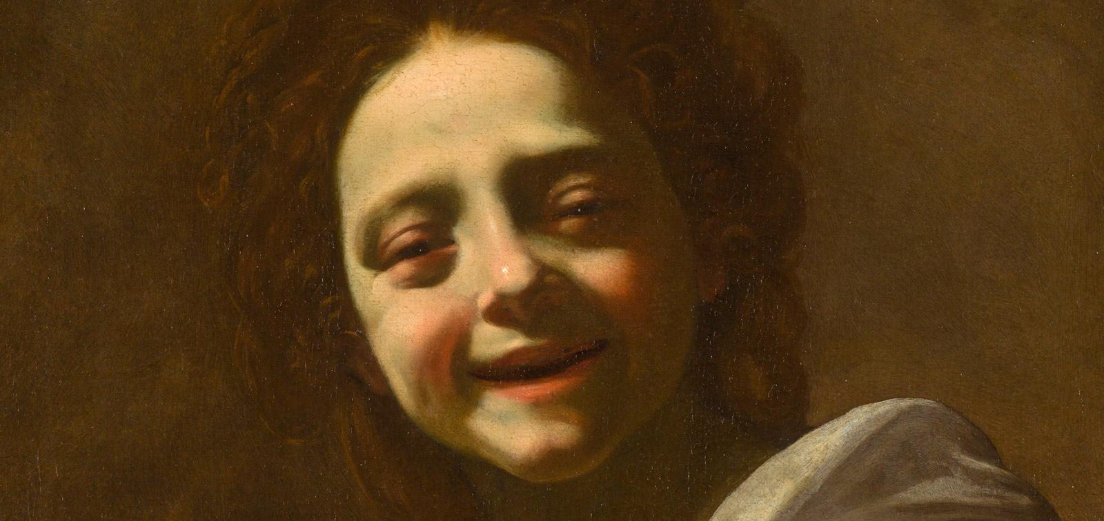 <em>Retrato de niña con paloma</em>, de Simon Vouet