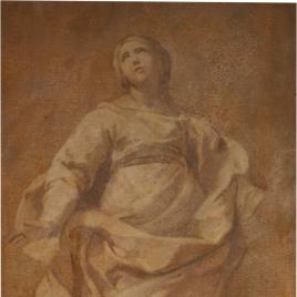 Figura femenina, como de santa
