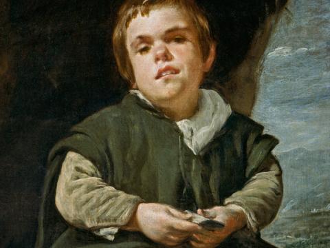 <em>El Niño de Vallecas</em>, Diego Rodríguez de Silva y Velázquez, comentada por Vicente Aleixandre