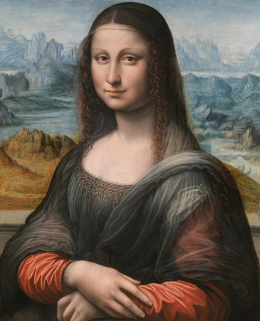 Study of the Prado Museum's copy of La Gioconda