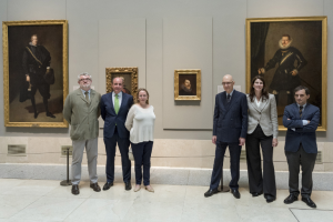 On display for the first time in the Museum's galleries Portrait of Philip III by Velázquez
