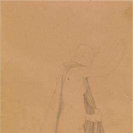 Estudio para la figura de San Miguel. Regina Coeli