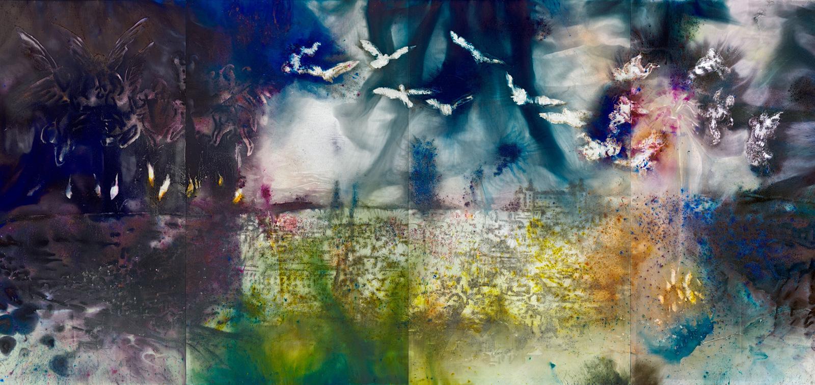 El espíritu de la pintura. Cai Guo-Qiang en el Prado
