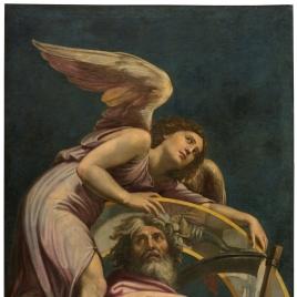 Separación De La Luz Y Las Tinieblas Colección Museo Nacional Del Prado