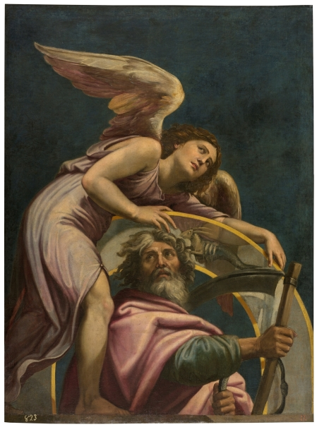 Saturno con el signo de Capricornio