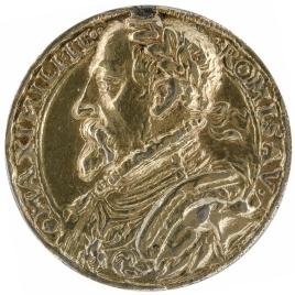 Maximiliano II - Un águila sobre un orbe