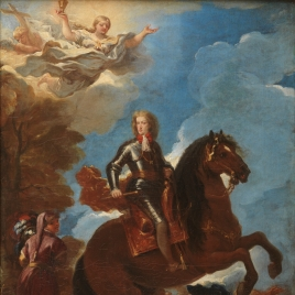 Charles II, King of Spain, on Horseback
