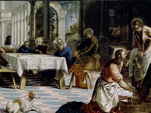 <em>El lavatorio</em>, Jacopo Robusti Tintoretto, comentada por Alberto Portera