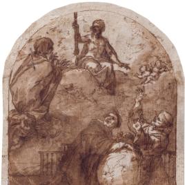 La Virgen intercediendo por la Humanidad