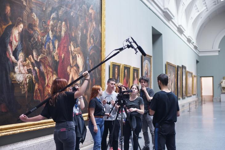 El Museo del Prado, a través de los ojos de un grupo de estudiantes de Bachillerato de Artes