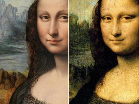 La <em>Gioconda</em> del Prado y la original, pintadas a la vez