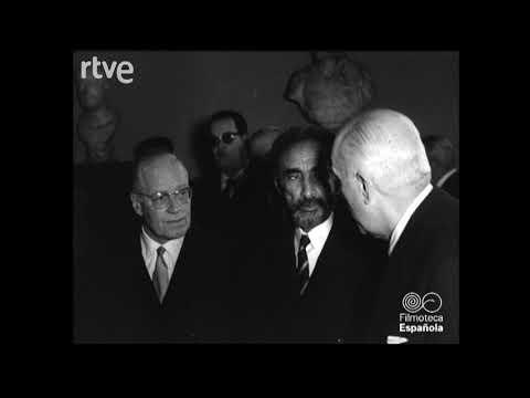 El emperador de Etiopía visita el Museo del Prado